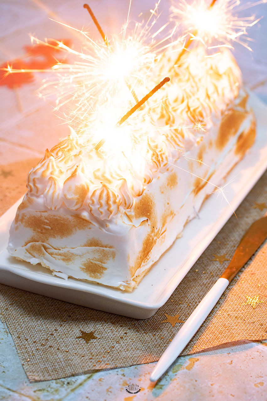 bûche noël omelette norvégienne