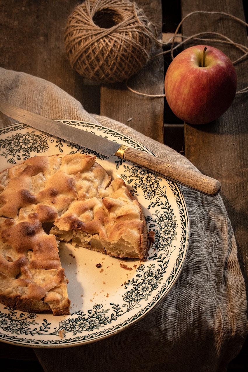 gâteau 5 4 3 2 1 aux pommes