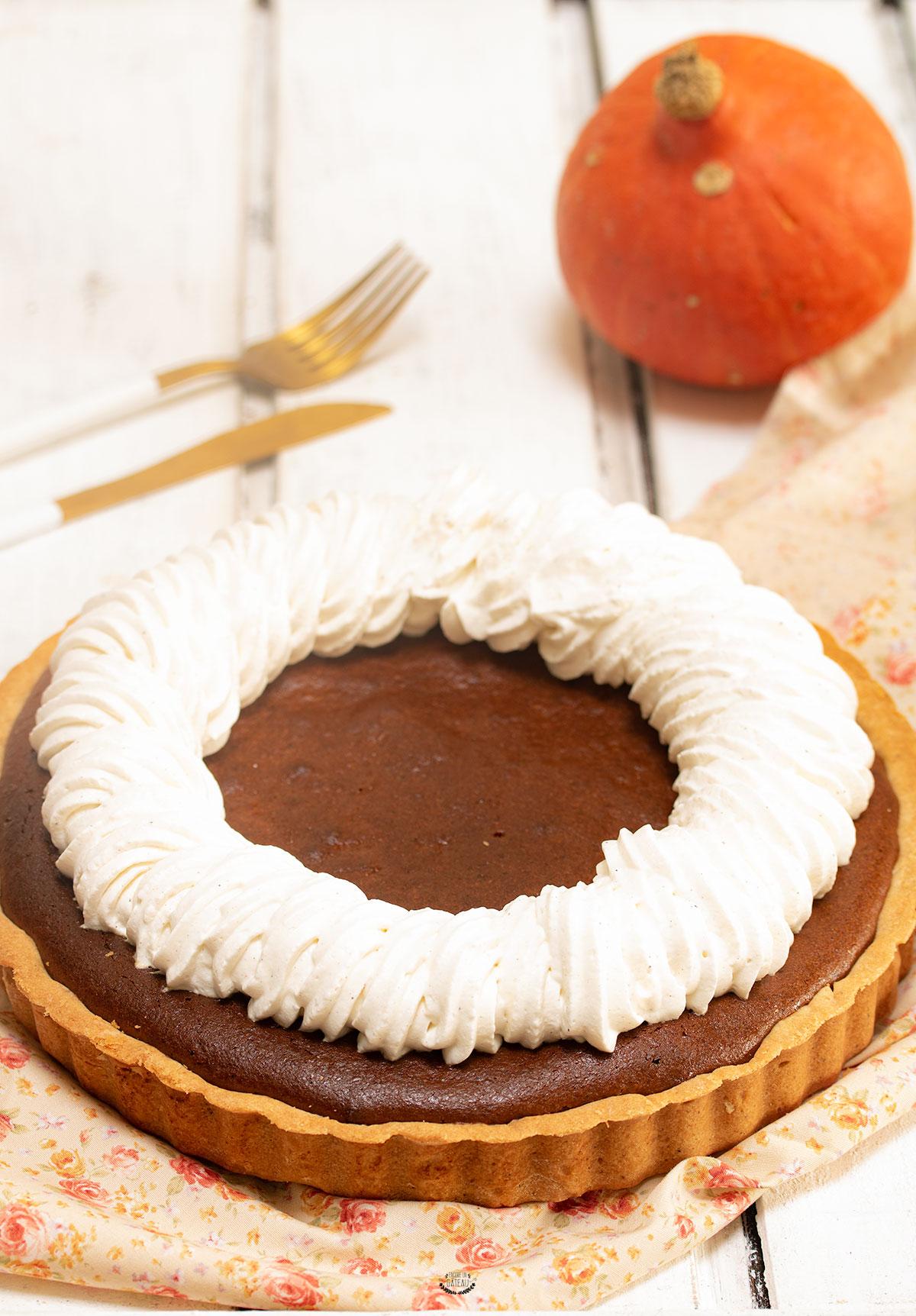 recette américaine de pumpkin pie