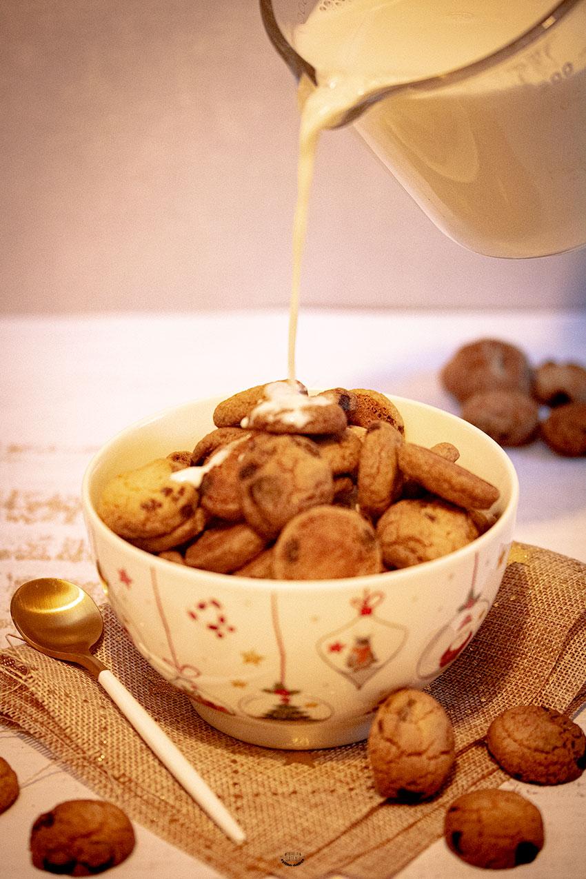 recette mini cookies façon céréales