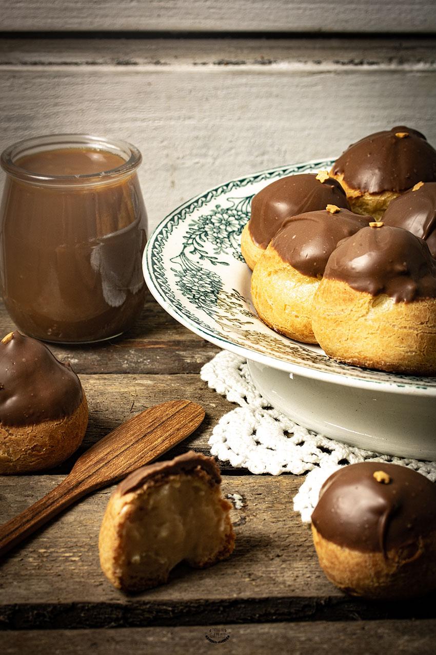 choux caramel beurre salé recette