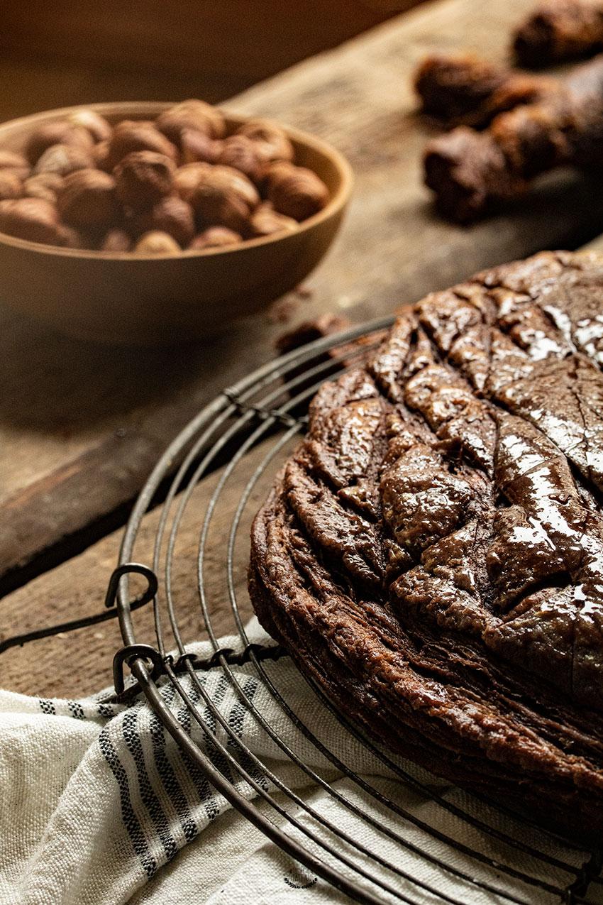 galette des rois praliné chocolat
