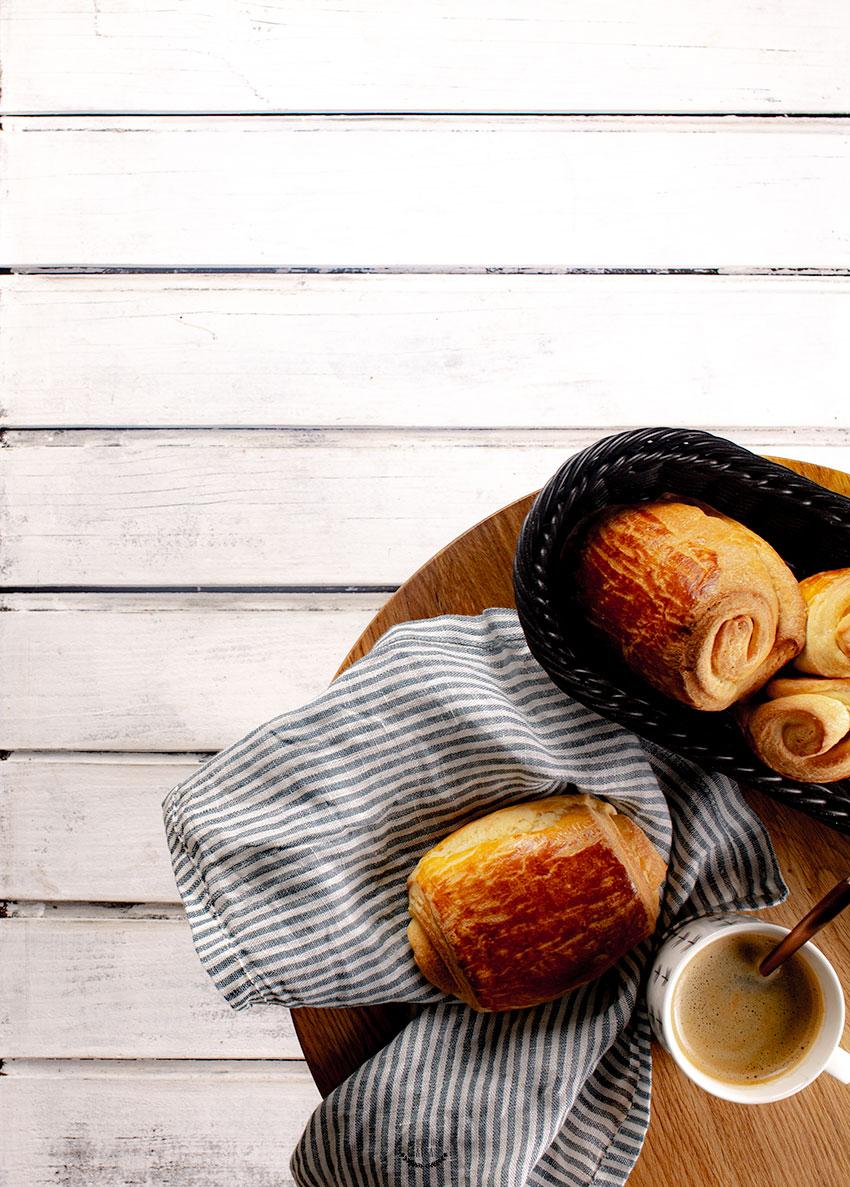 pains au chocolat briochés