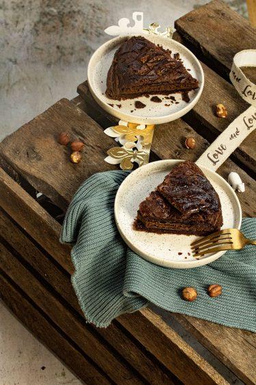recette galette des rois chocolat praliné
