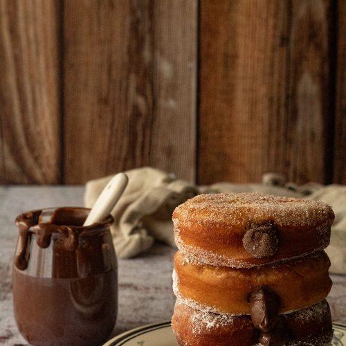 beignets nutella