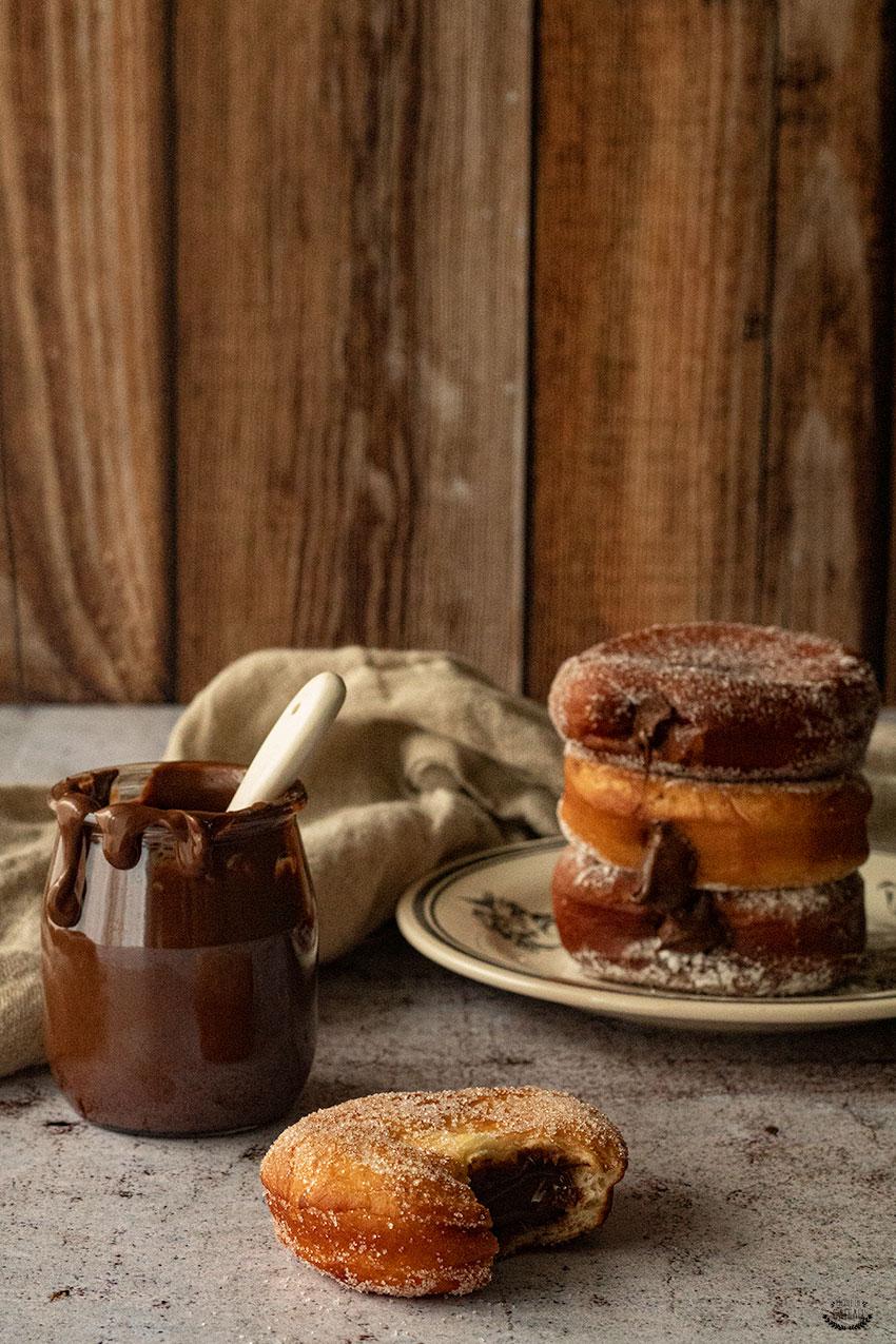 recette beignets fourrés nutella