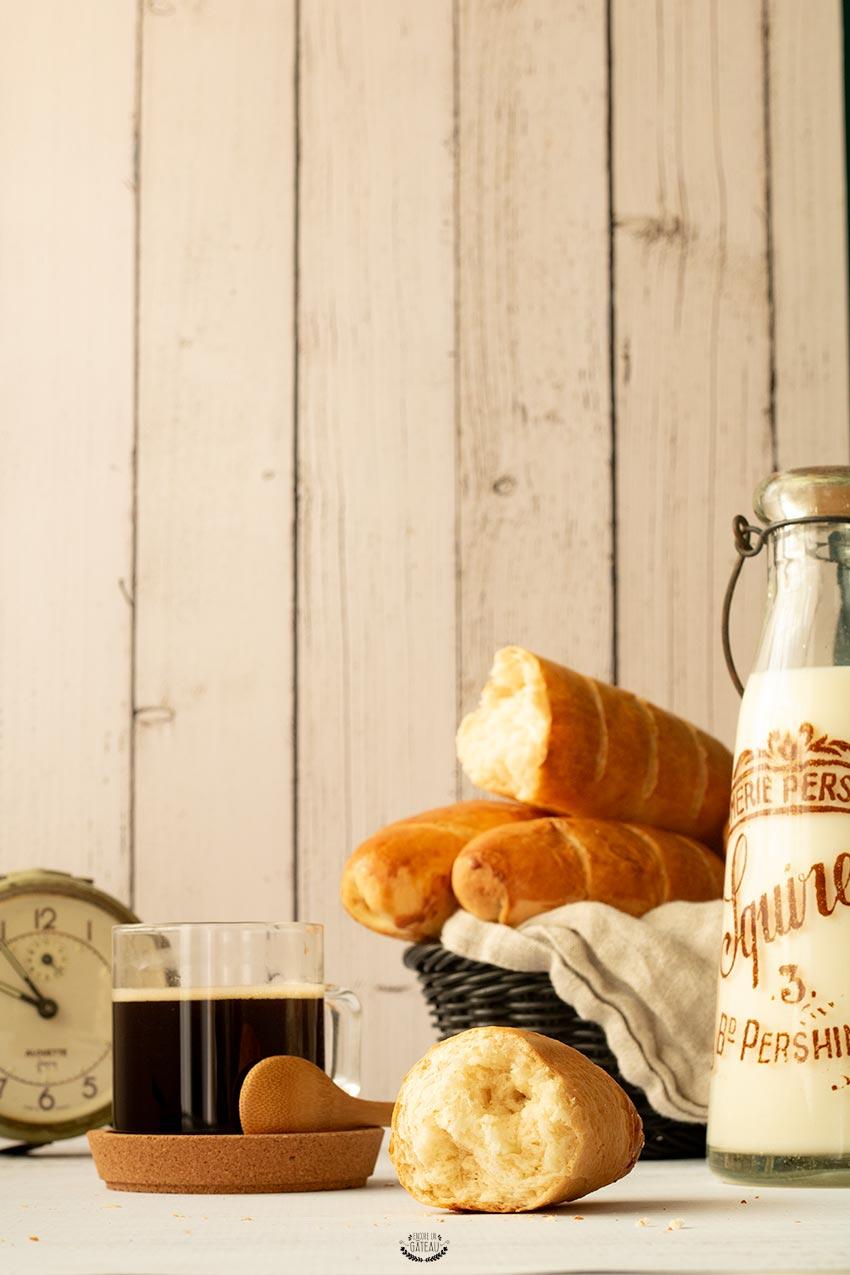 recette baguette viennoise ou pain viennois