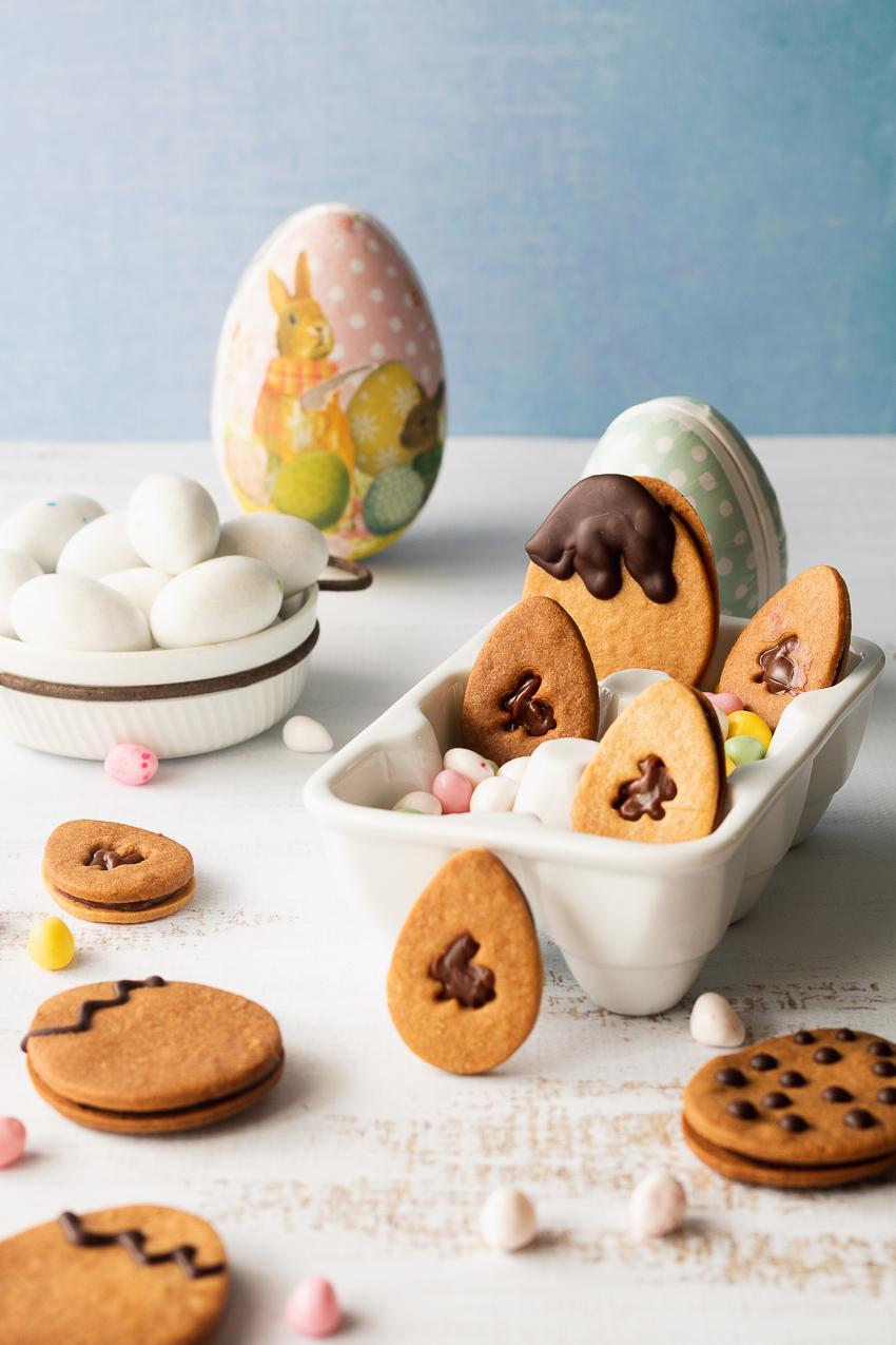 biscuits sablés oeufs de pâques
