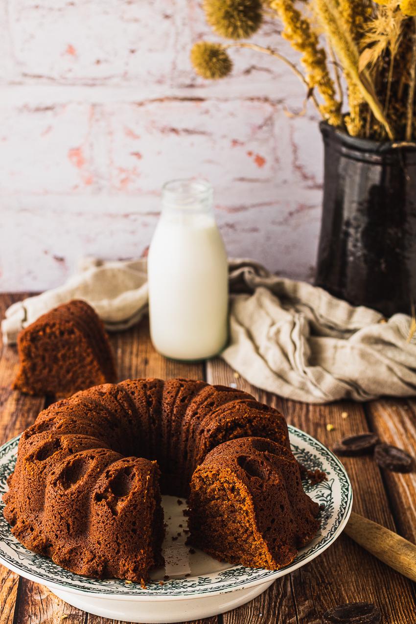 bundt cake facile chocolat et mascarpone