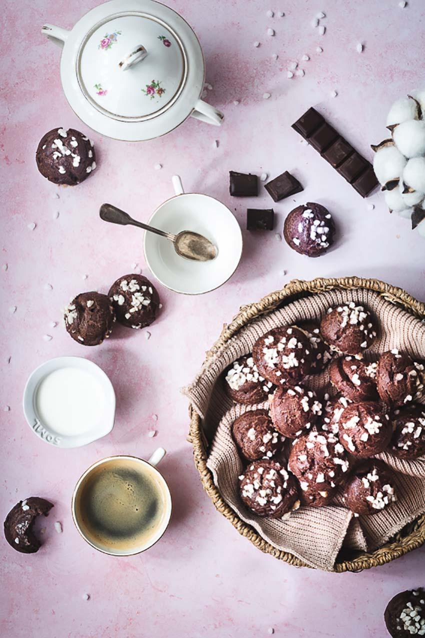 chouquettes faciles au chocolat