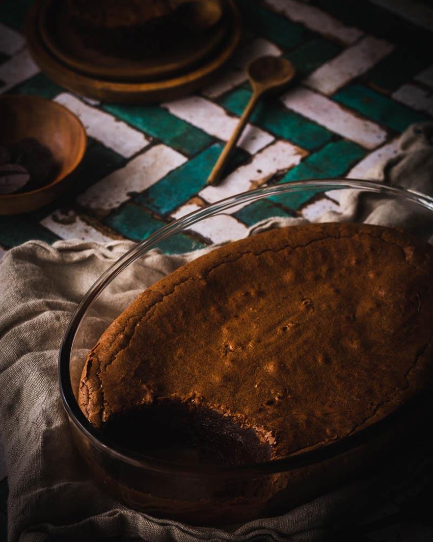 faire un fondant au chocolat avec de la farine de sarrasin