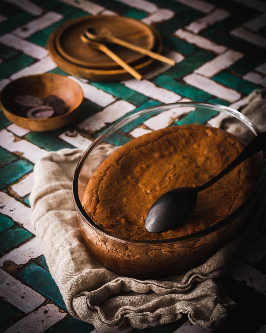fondant chocolat farine sarrasin recette