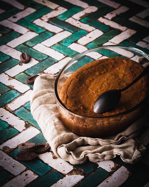 fondant au chocolat farine de sarrasin