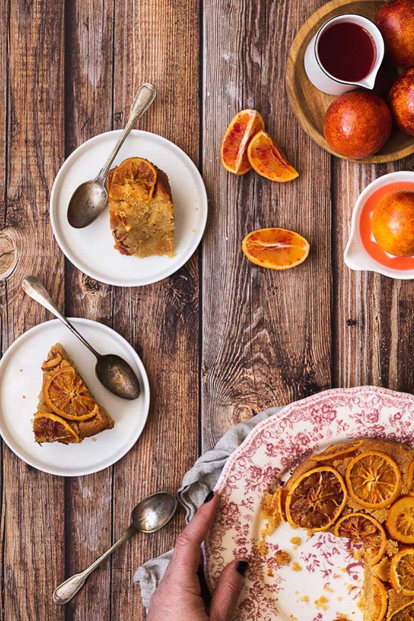 gâteau polenta orange sanguine recette