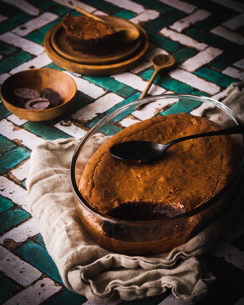 recette fondant chocolat farine de sarrasin