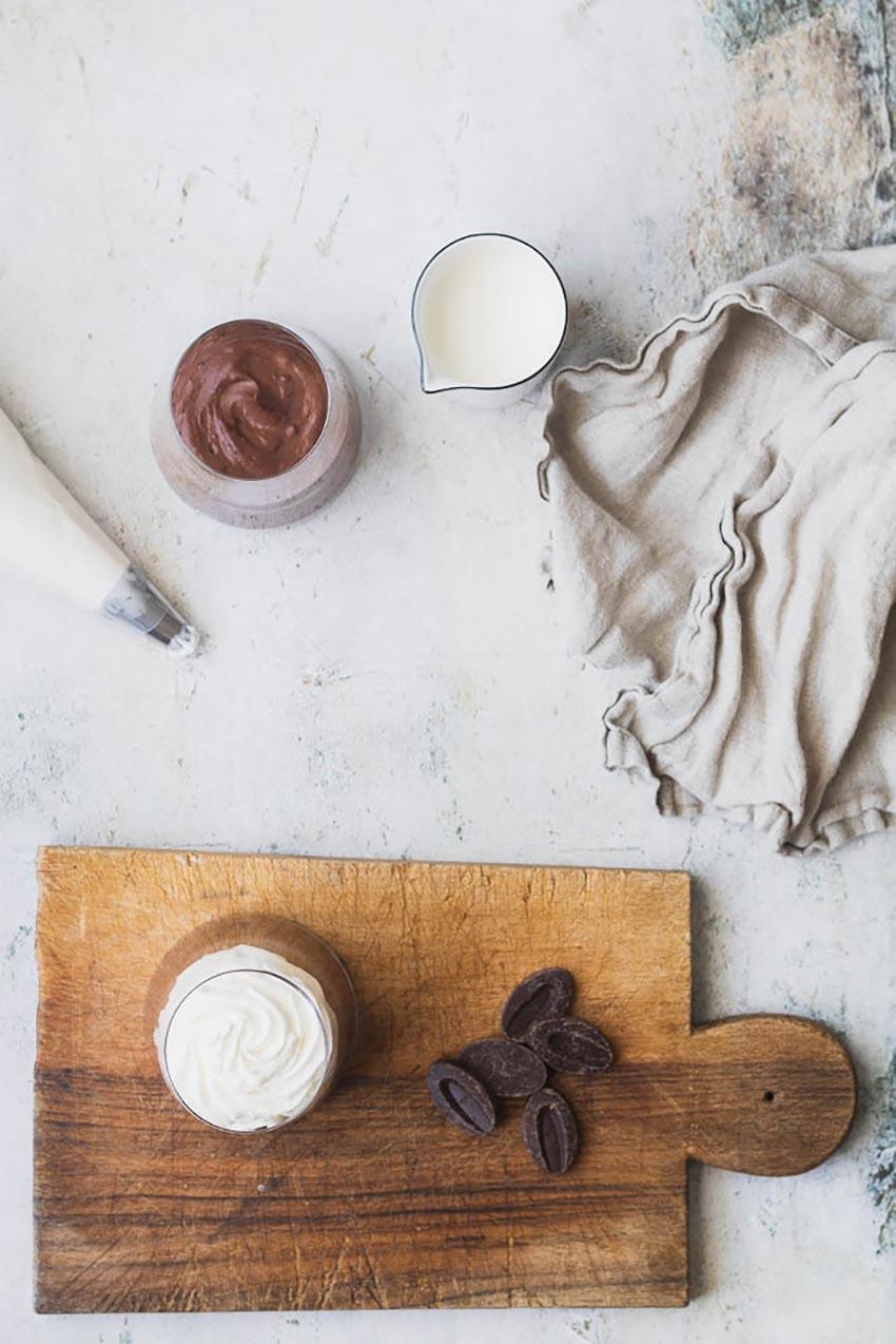 recette mousse au chocolat liégeois
