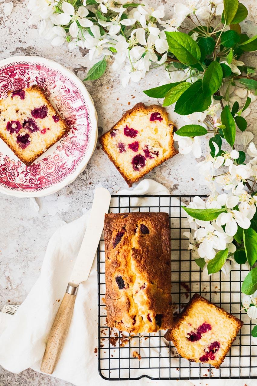 cake coco framboise moelleux recette facile