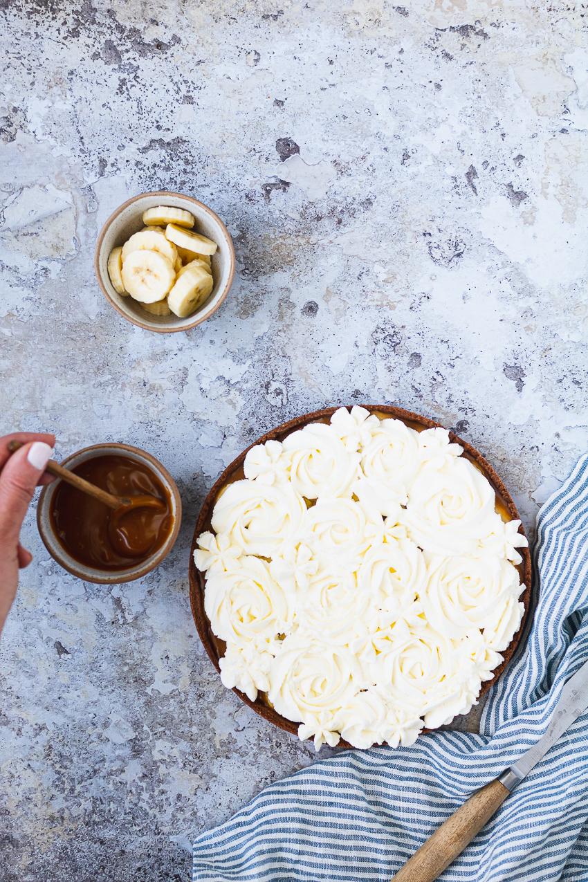 recette facile de banoffee pie