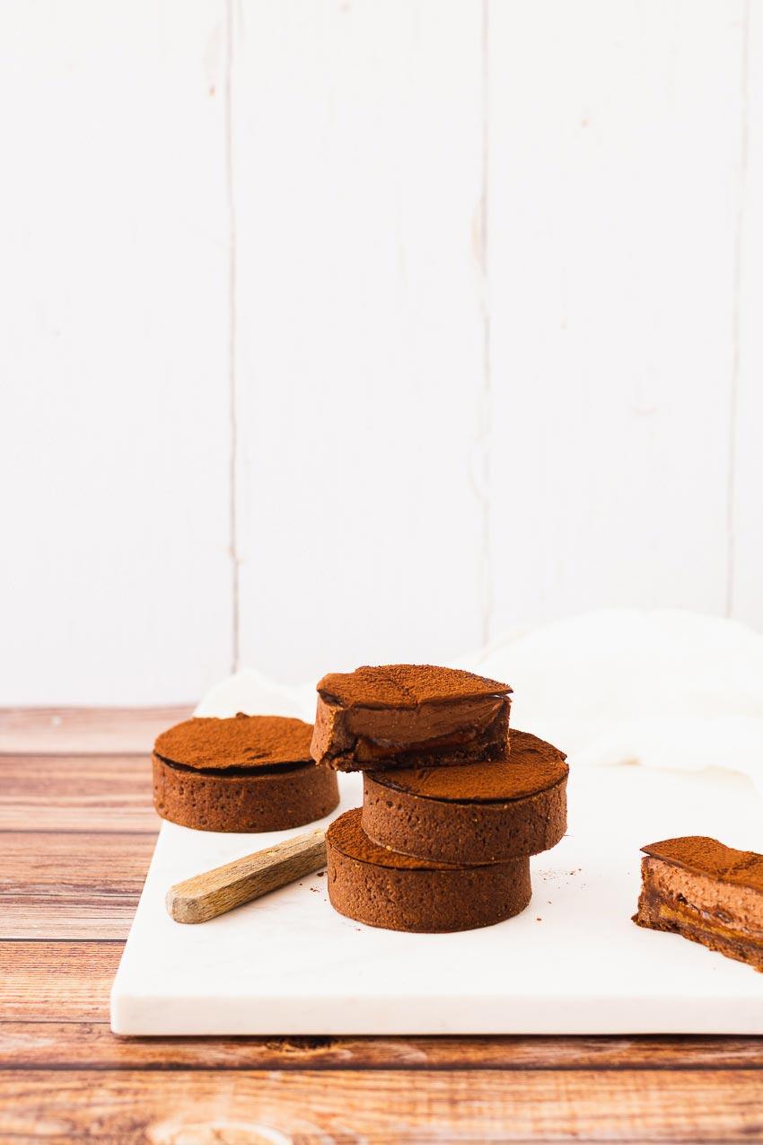 tartelettes chocolat praliné julien dechenaud