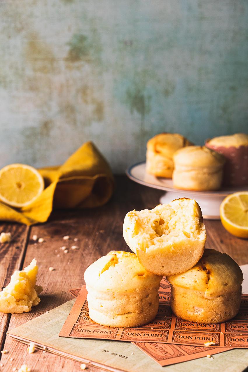 muffins citron mascarpone recette facile