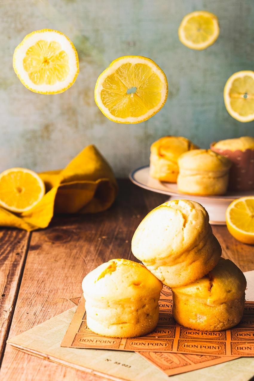 recette muffins citron mascarpone moelleux
