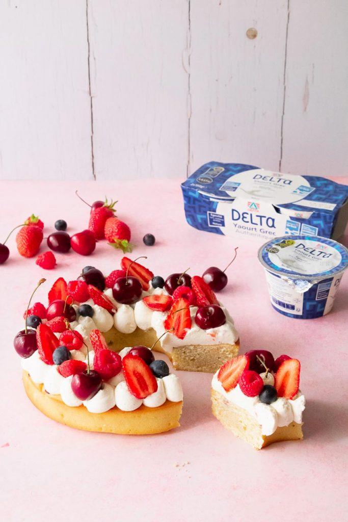 faire un gâteau couronne