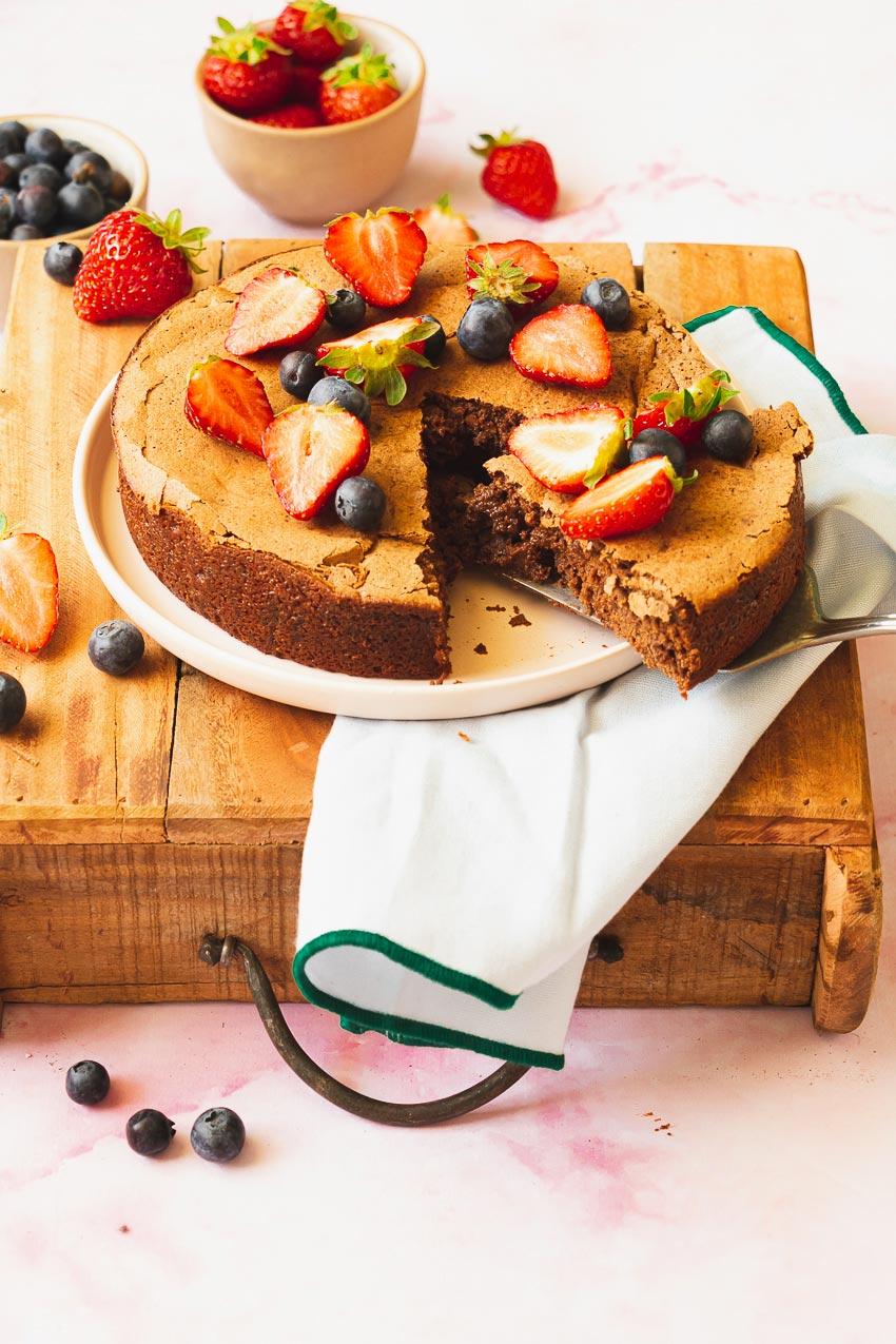 fondant chocolat compote pomme recette
