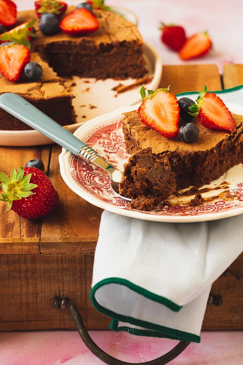 recette fondant chocolat compote