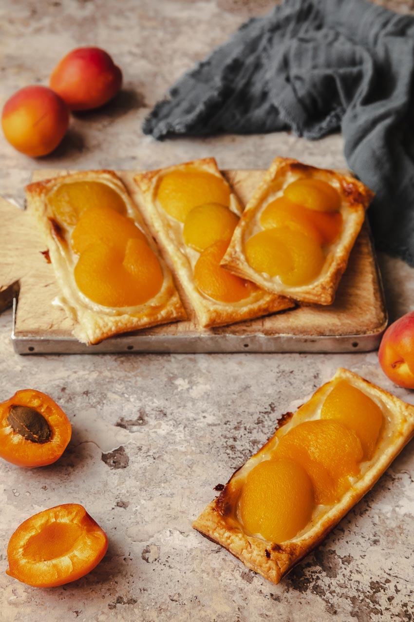 recette anglaises aux abricots