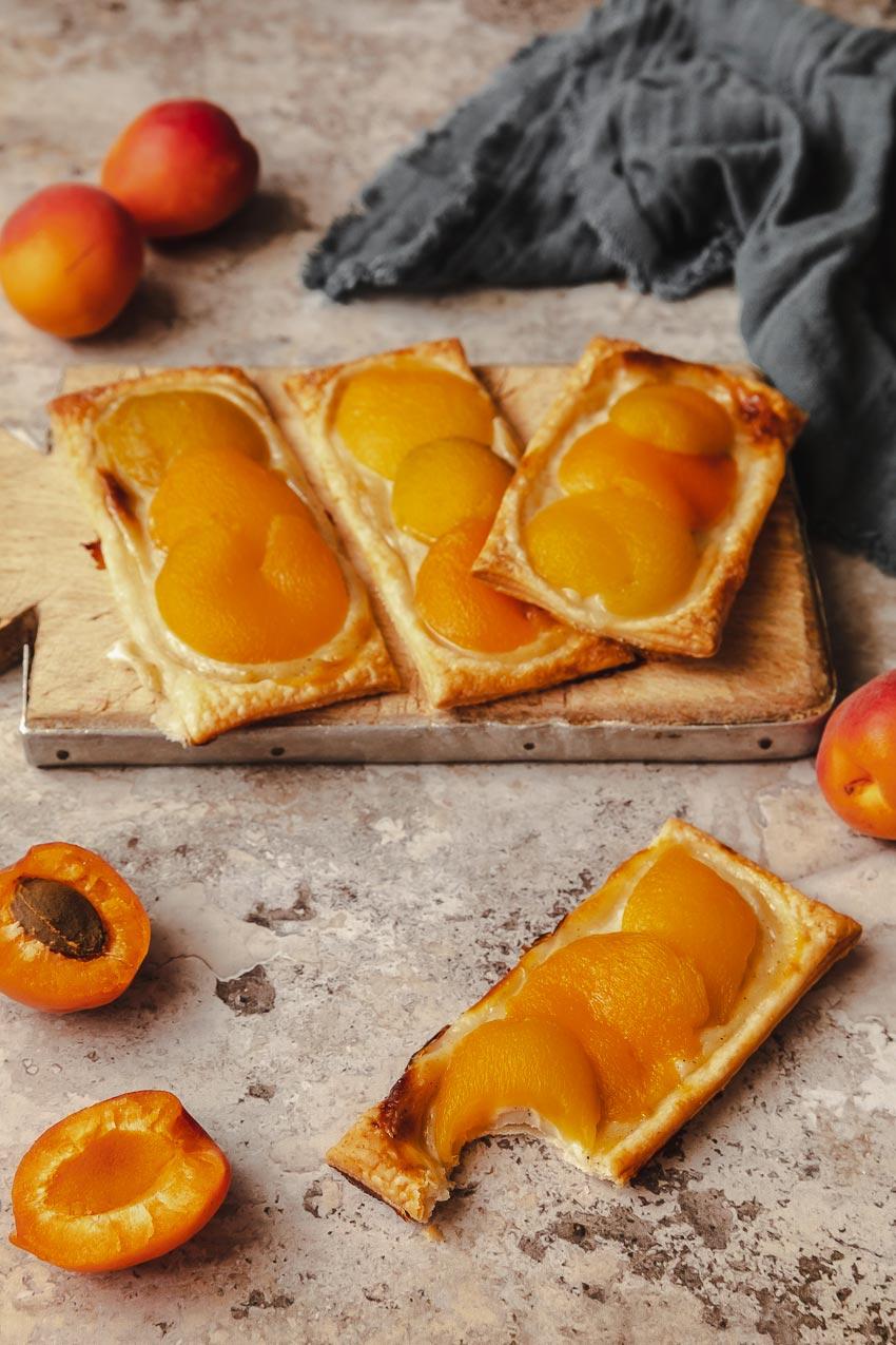 recette des anglaises aux abricots