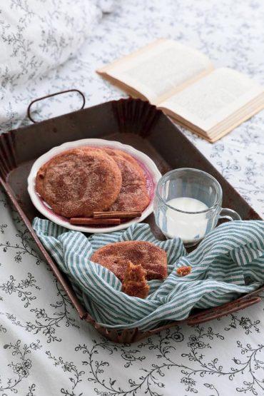 snickerdoodles biscuits à la cannelle