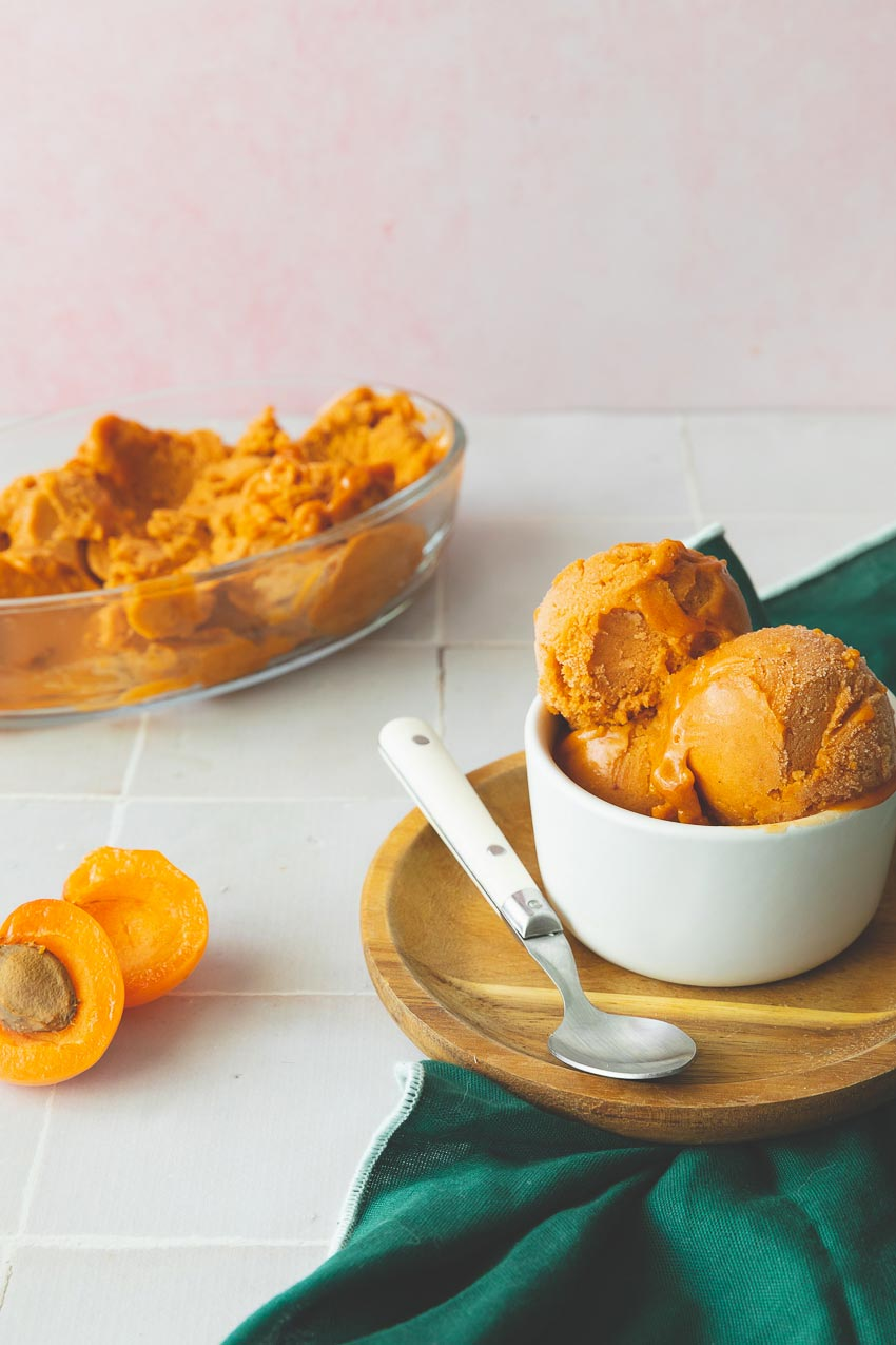 sorbet abricot recette