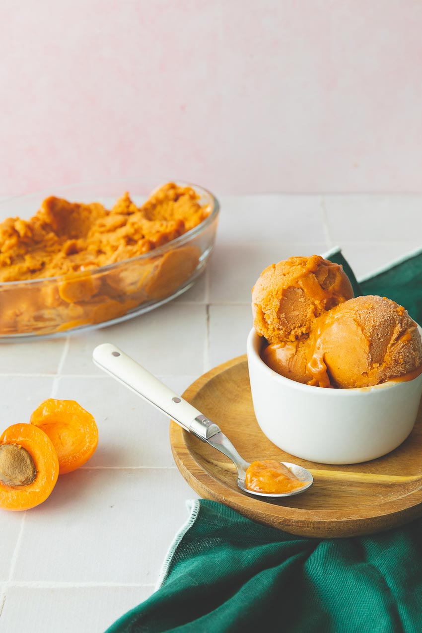 sorbet abricot recette maison