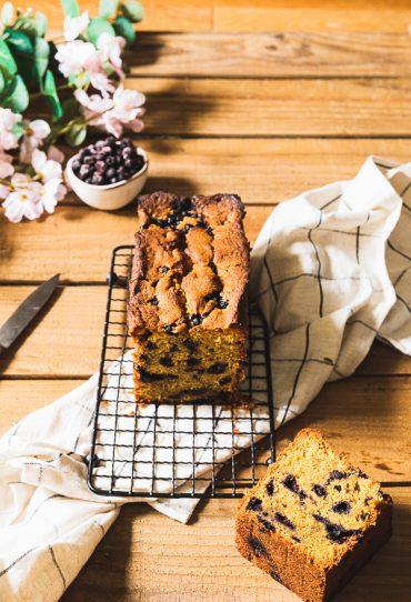 cake pistache myrtilles
