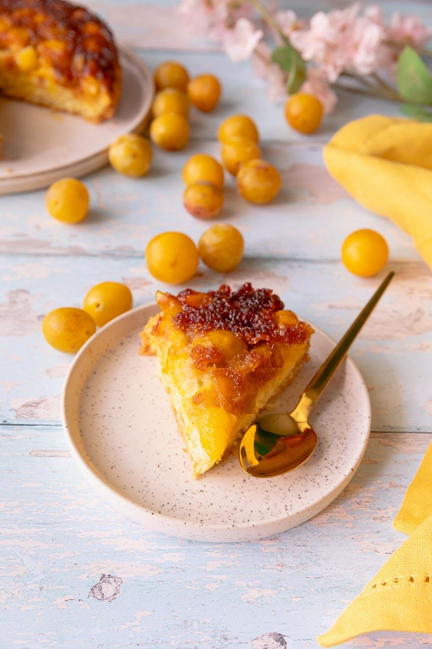 gâteau renversé mirabelles recette