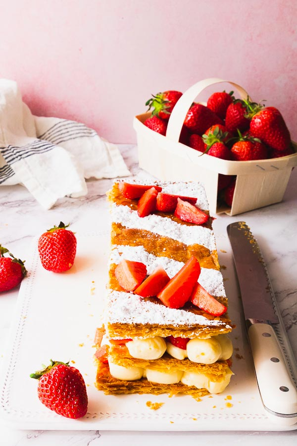 mille-feuille fraise