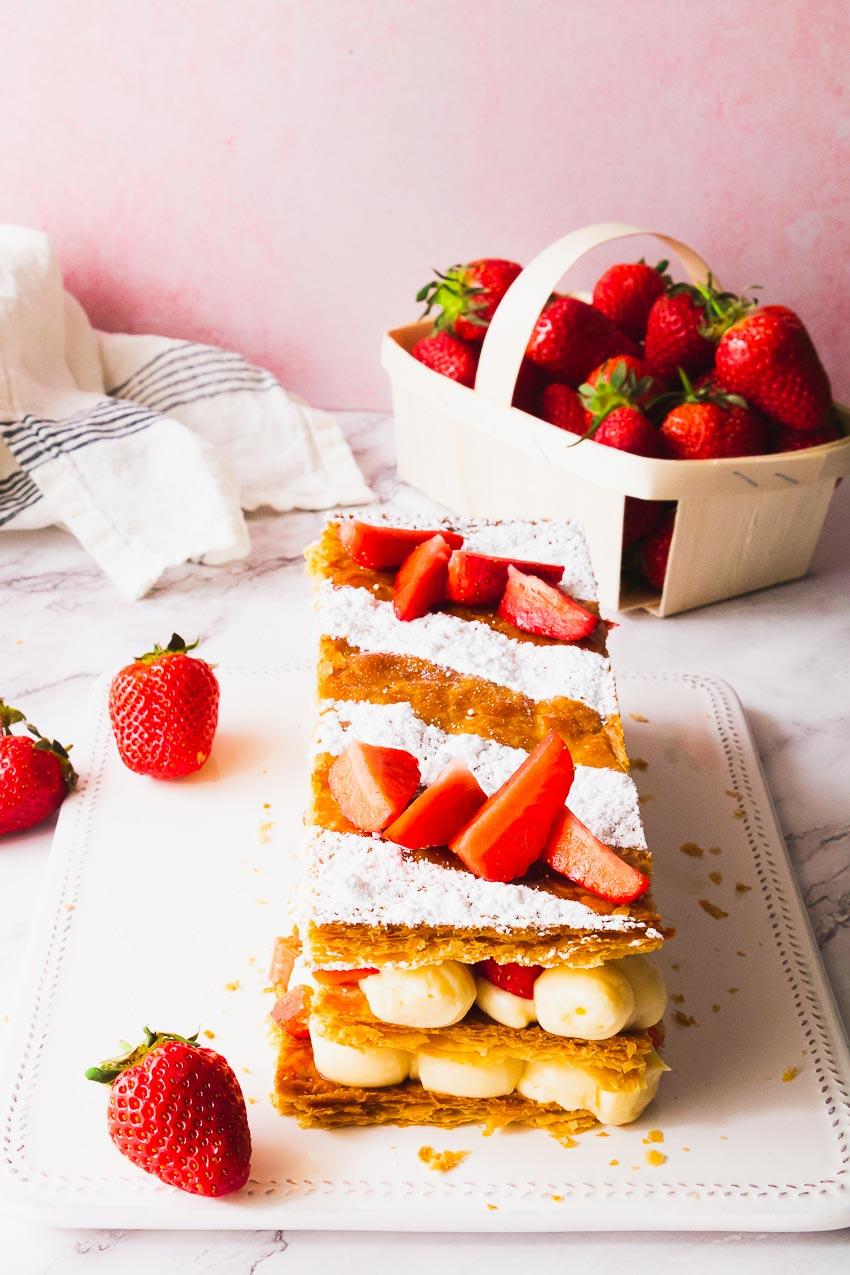 mille-feuille fraise recette