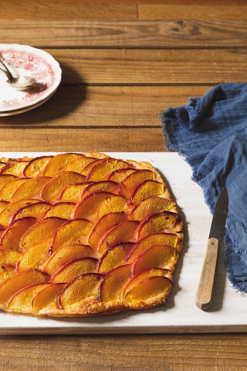 recette tarte fine aux prunes