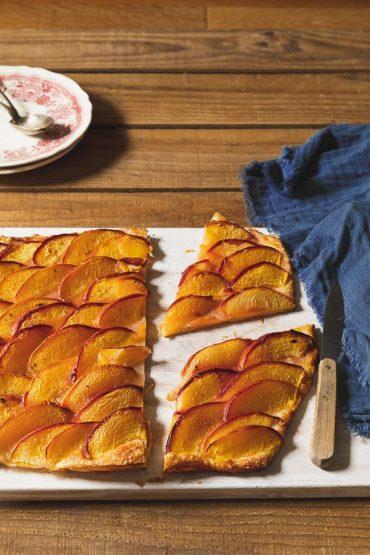 tarte fine aux prunes