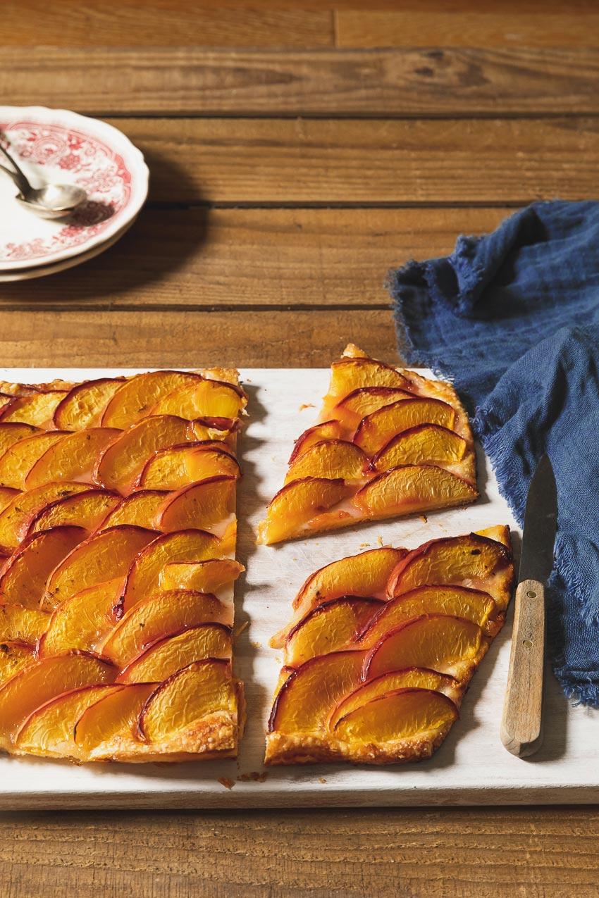 tarte fine prunes recette