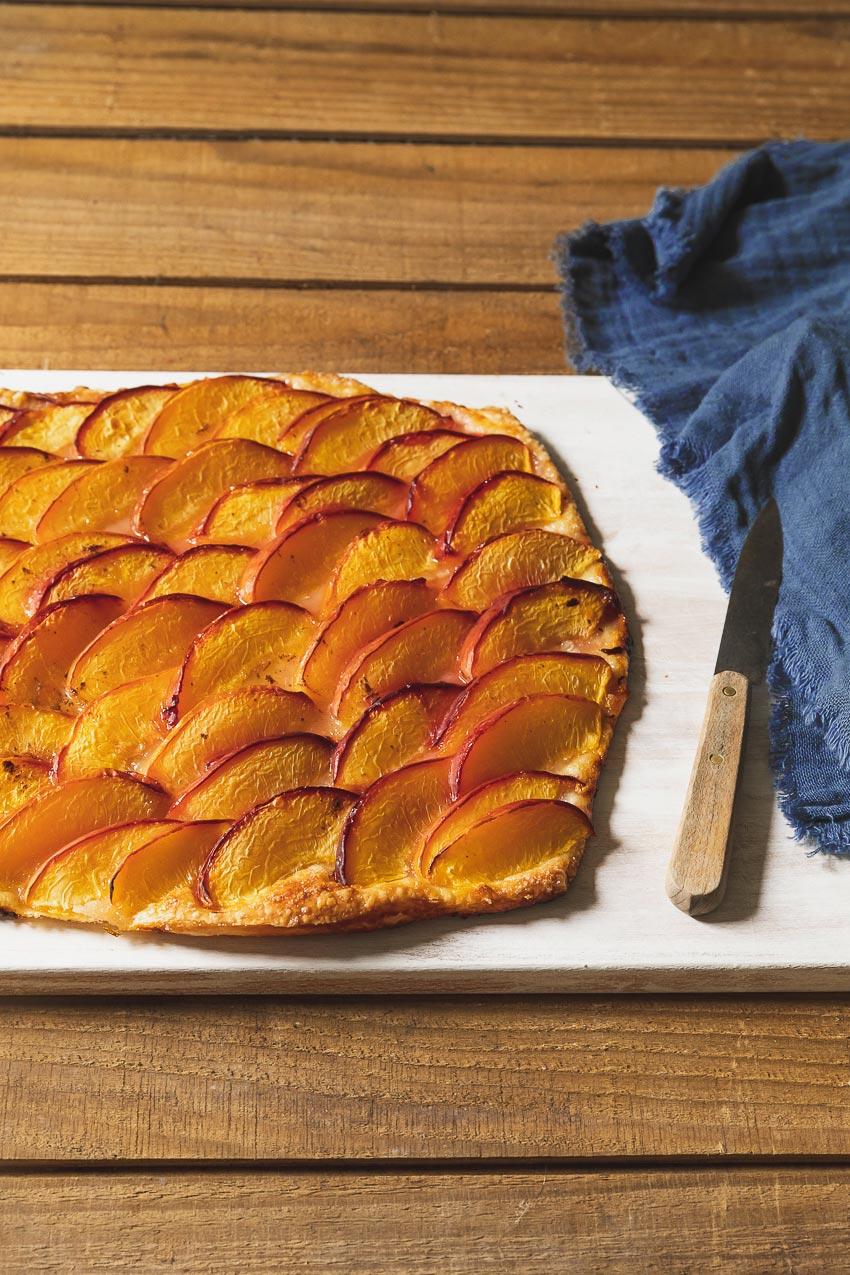 tarte fine aux prunes pâte feuilletée
